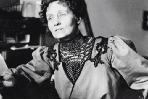 Emmeline Pankhurst.