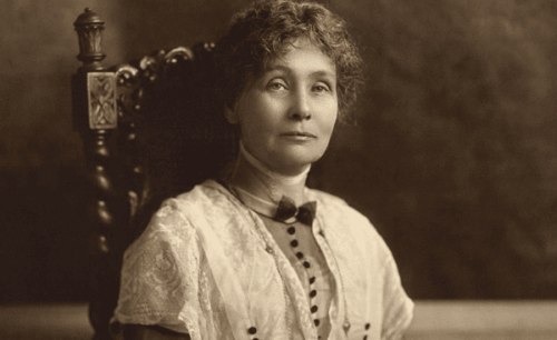 Emmeline Pankhurst og suffragette-bevegelsen