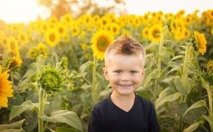 Bestemte barn er lykkelige barn
