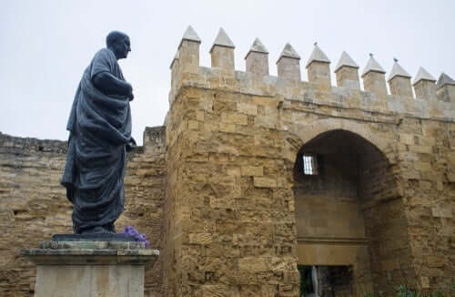 Seneca i Cordoba, Spania.