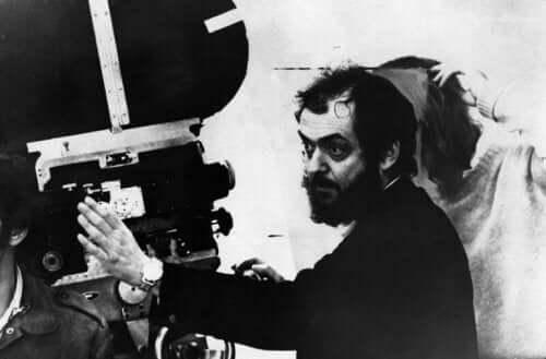 Stanley Kubrick bak kamera.