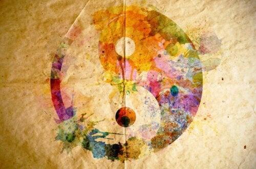 Yin og yang kan ikke eksistere uten hverandre.