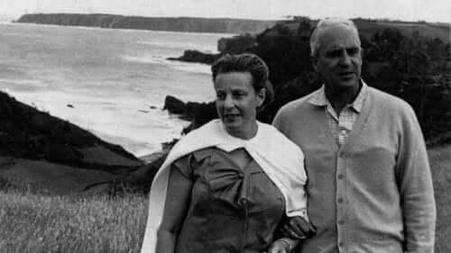 Severo Ochoa og kona hans