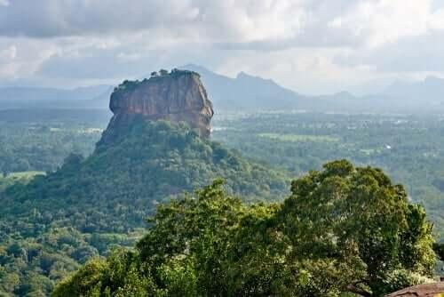 Sri Lanka-landskap.