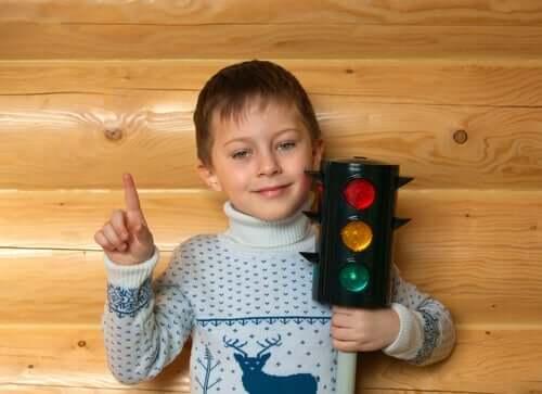 Trafikklysmetoden for å kontrollere sinne