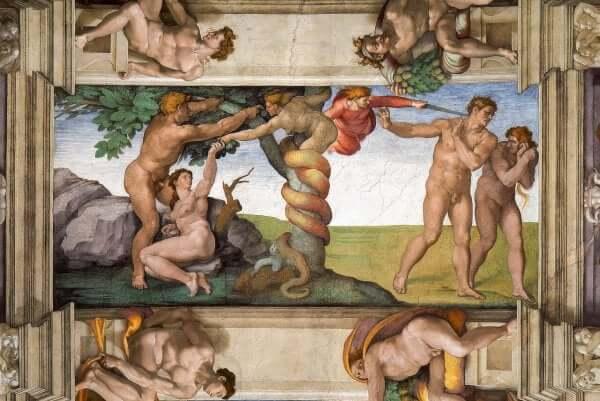 Maleri av Michelangelo
