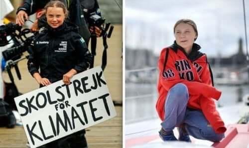Greta Thunberg begynte skolestreik for klimaet.