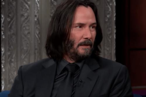 Keanu Reeves i et intervju
