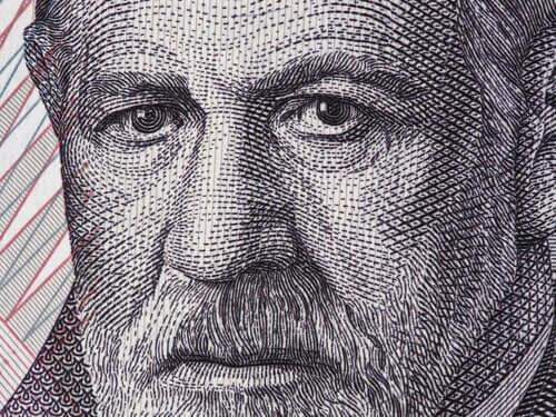 Sigmund Freud stod bak den økonomiske modellen for psykoanalyse.