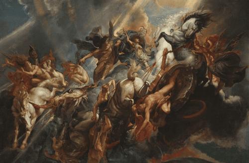 Maleri: The Fall of Phaeton