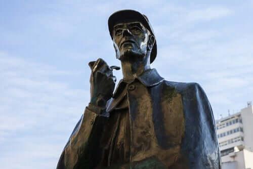 Statue av Sherlock Holmes