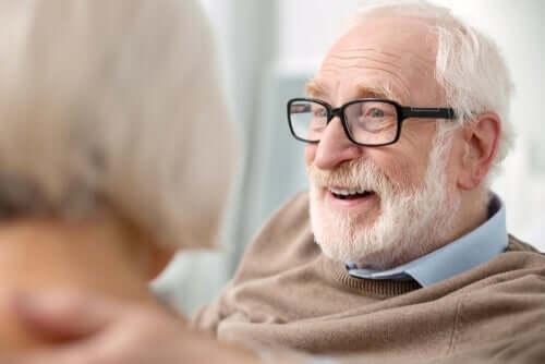 Det er forskjell mellom å bli eldre og bli gammel.