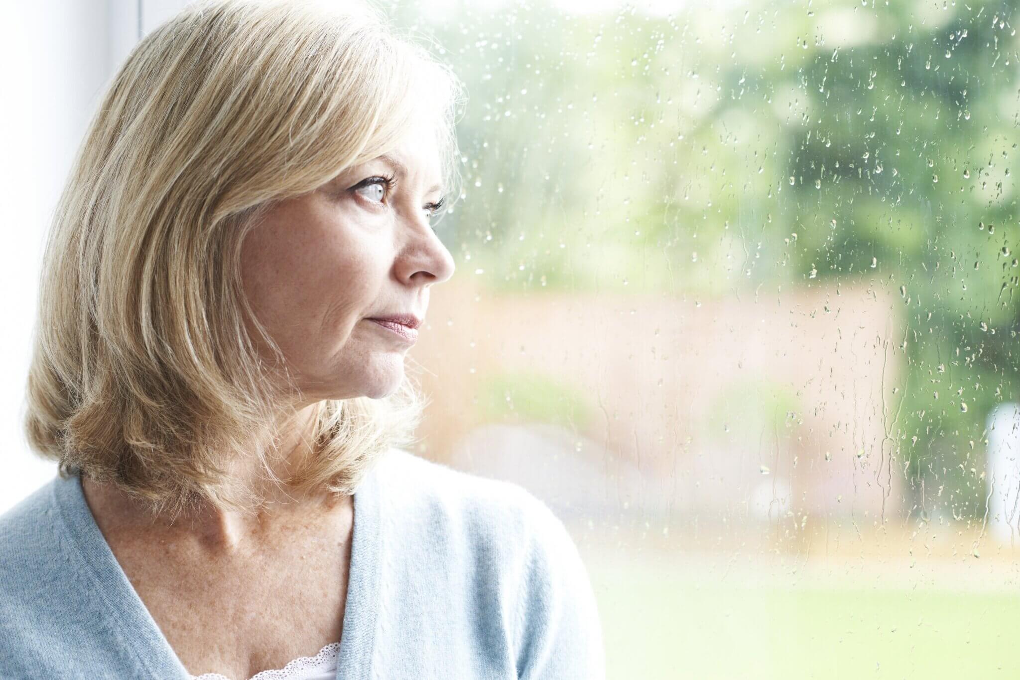 En interessant studie viser at fortvilelse forsvinner med alderen.