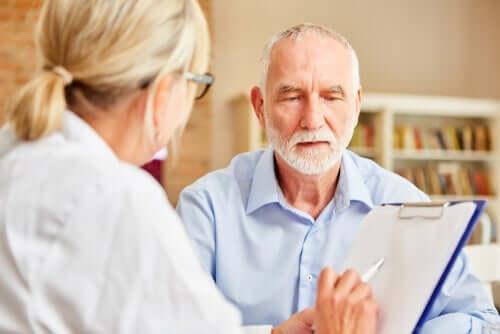 Mini-mental-status-testen for å oppdage mulig demens
