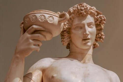 Myten om Dionysos, guden av vin og nytelse
