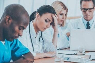 Utbrenthetssyndrom blant helsearbeidere
