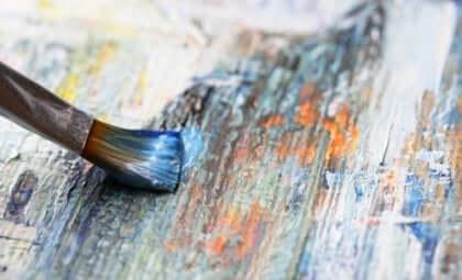 Malerkost på et lerret