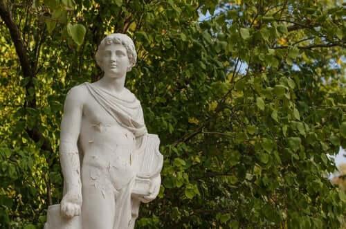 Orfeus og Eudrydike: Skulptur av Orfeus.