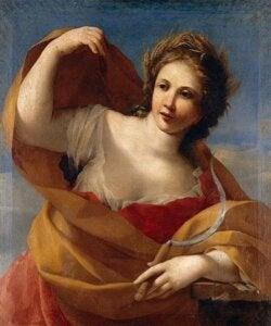Demeter, den blonde gudinnen over jordbruket