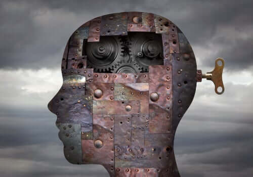 En mekanisk hjerne.