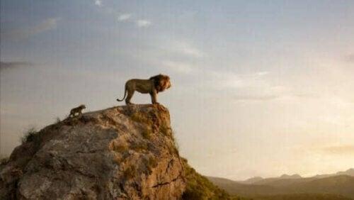 Løvenes konge: et minne fra barndommen