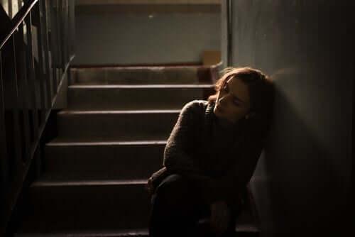 Å føle at livet ikke har mening kan føre til enorm tristhet.