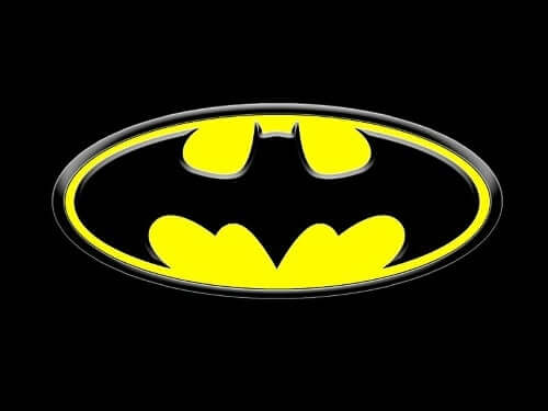 Logo Superhelten Batman.