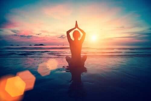 Yoga og meditasjon.