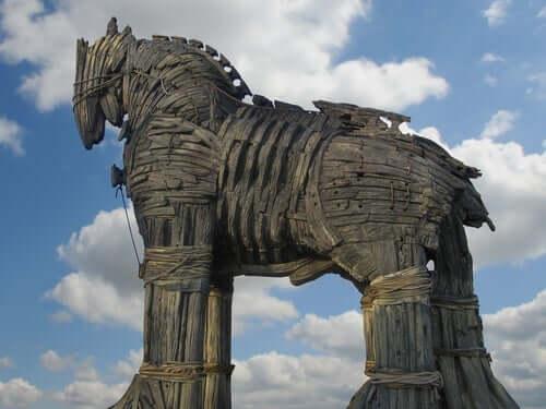 Den trojanske hesten.