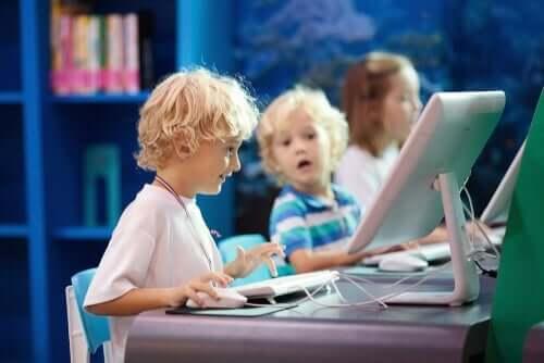 Interaktiv læring for små barn.