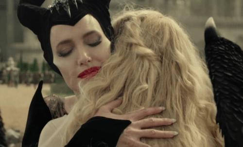 Maleficent og Aurora.