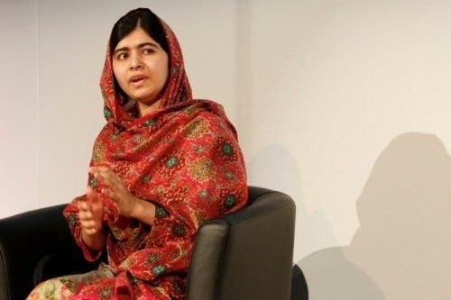 Menneskerettighetsforkjempeen Malala Yousafzai.