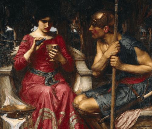 Myten om Medea, en trollkvinne i kjærlighet