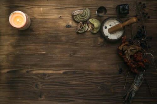 Trollkvinnens bord.