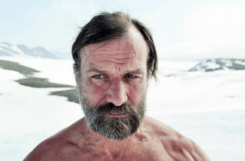 """Wim Hof er kjent som """"Ismannen""""."""