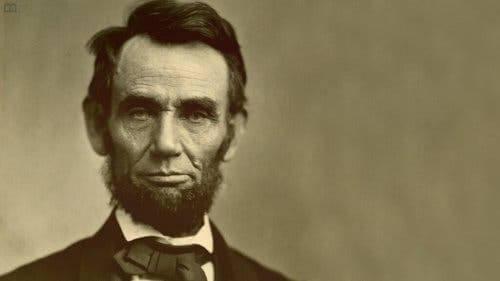 Et portrett av Abraham Lincoln.