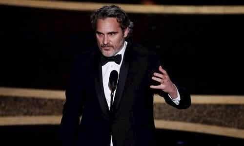 Joaquin Phoenix sin tale: For levende vesener og miljøet