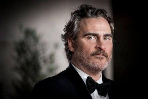 Joaquin Phoenix under Oscarutdelingen.