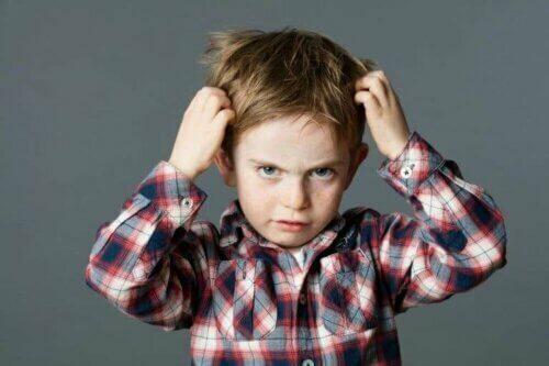 Hårnappingslidelse, eller trikotillomani hos barn
