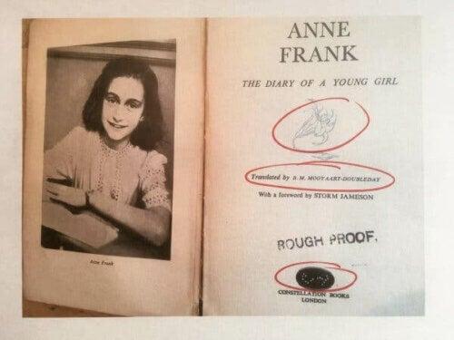 Anne Franks dagbok.