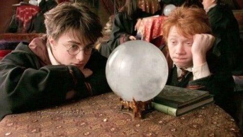 En scene fra Harry Potter-filmen.