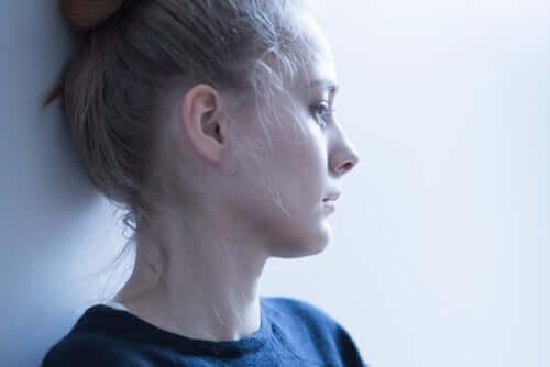 En trist kvinne