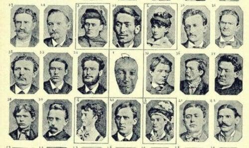 Cesare Lombroso og hans teorier: Ansikter.