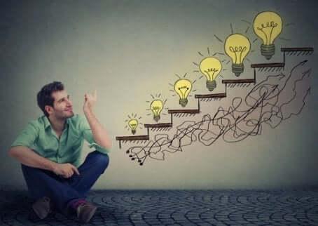 den gyldne sirkelen hjelper folk å sette ideer ut i livet