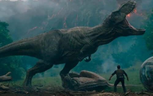 En stor dinosaur.