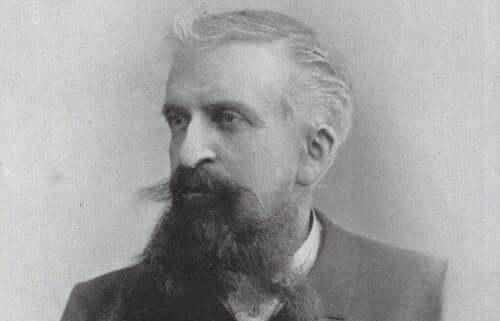 Portrett av Gustave Le Bon.
