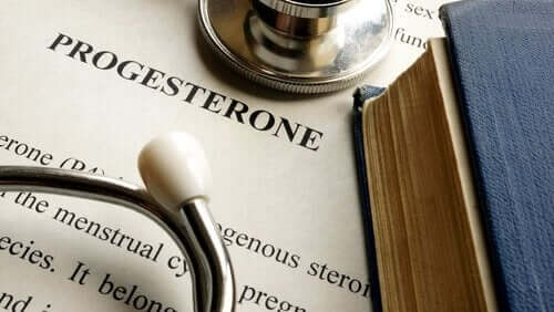 Steroidhormonet progesteron.