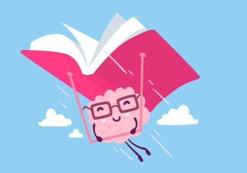 En flyvende bok.