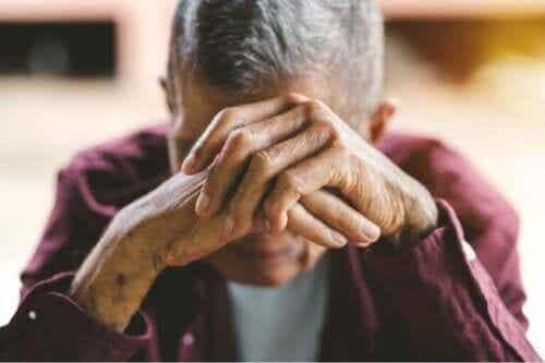 Følelsesmessige og atferdsmessige endringer forårsaket av et slag