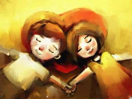 Omsorgfull, kjærlig, evnen til å reparere ... Former for mot